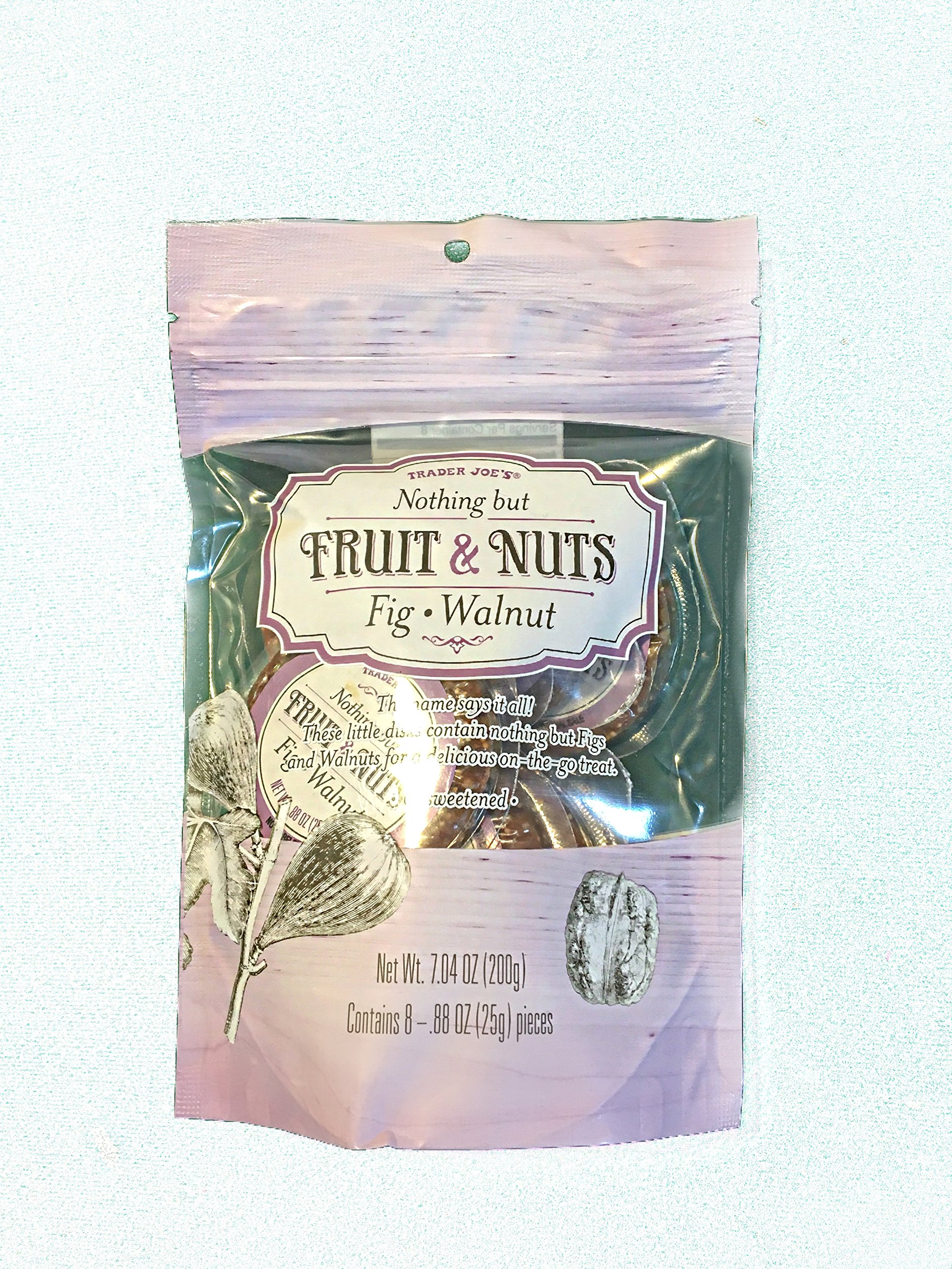 Trader Joes Nothing but Fruits & Nuts Fig Walnut 7.04 oz by Trader Joe's