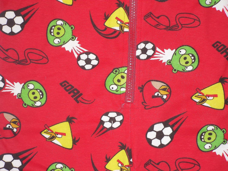 Pijama infantil de neopreno para niños pijama producto oficial de Angry Birds de balón de fútbol 6 7 8 9 10 11 12 y a los 13 años: Amazon.es: Ropa y ...