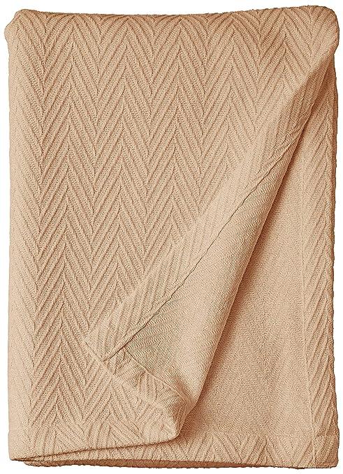 Metro King Cotton Blanket lightweight summer blanket Taupe