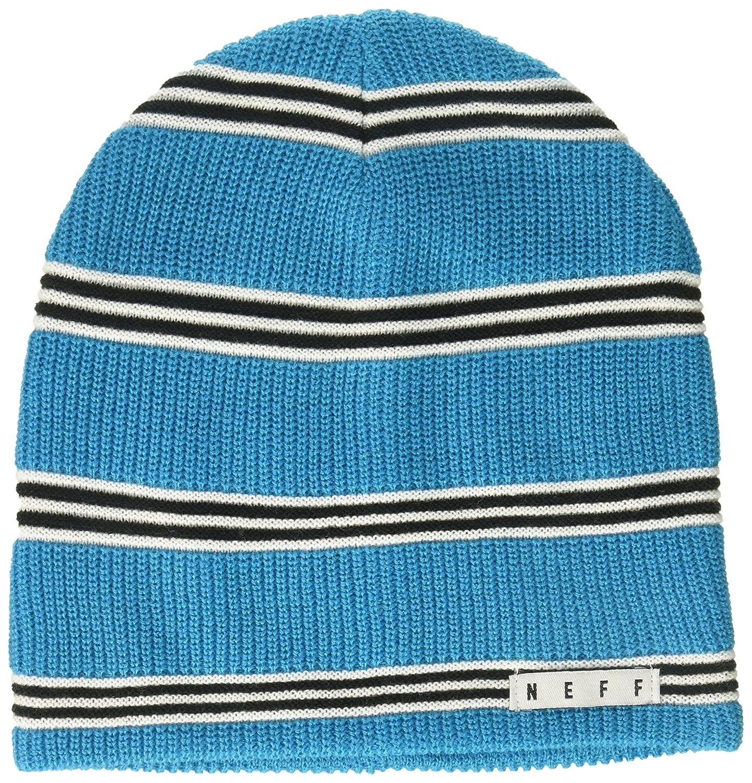 Amazon.com  NEFF Men s Daily Stripe Knit Slouchy Beanie 98315bf15