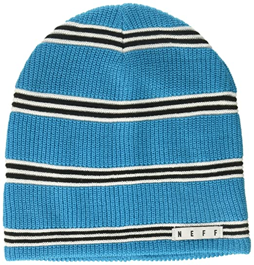 b83f8dec67893 Amazon.com  NEFF Men s Daily Stripe Knit Slouchy Beanie
