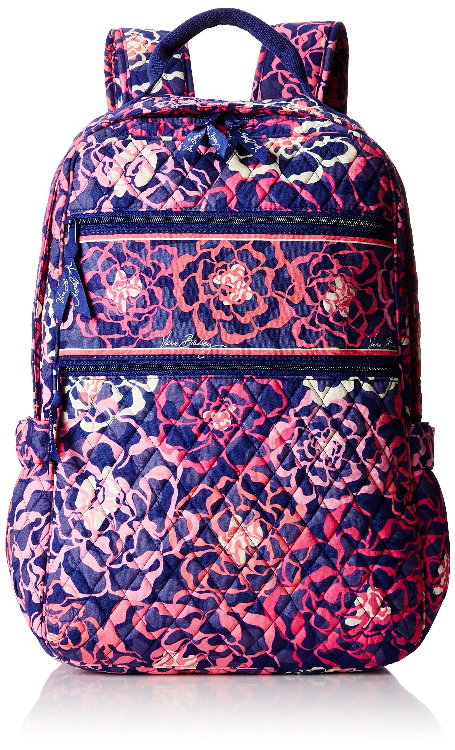 Vera Bradley Tech Backpack Shoulder Handbag, Katalina Pink, One Size