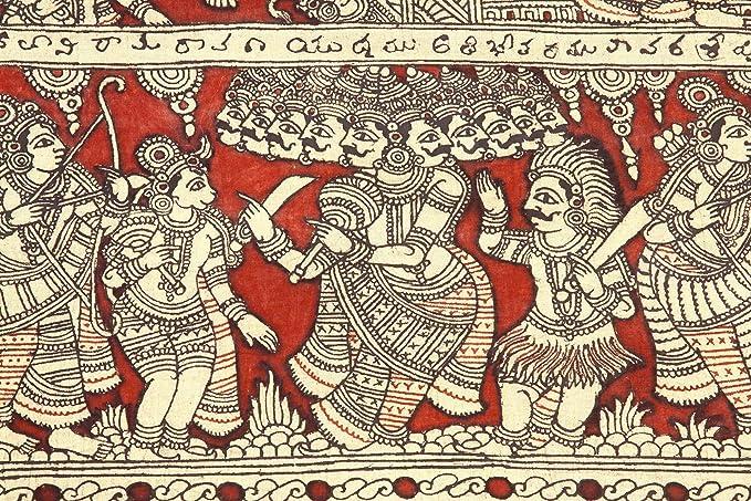 Image result for ramayan kalamkari