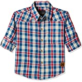 Cherokee by Unlimited Boys' Regular Fit Cotton Shirt