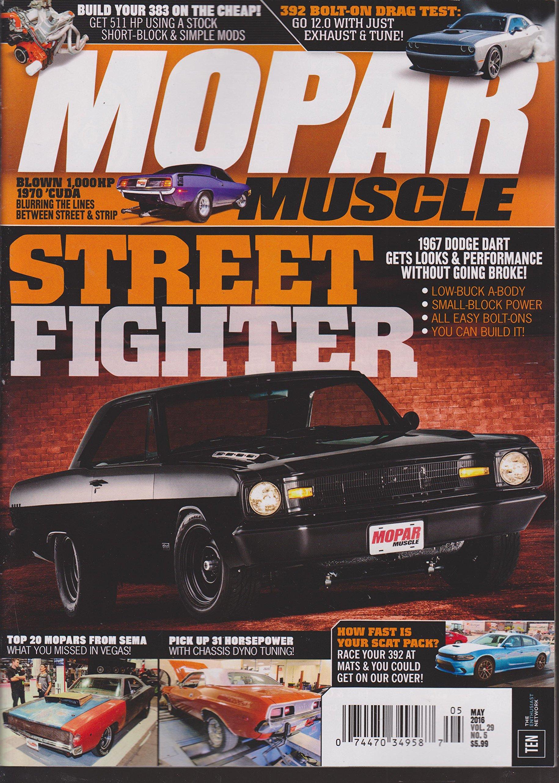 Mopar Muscle Magazine May 2016: Amazon com: Books