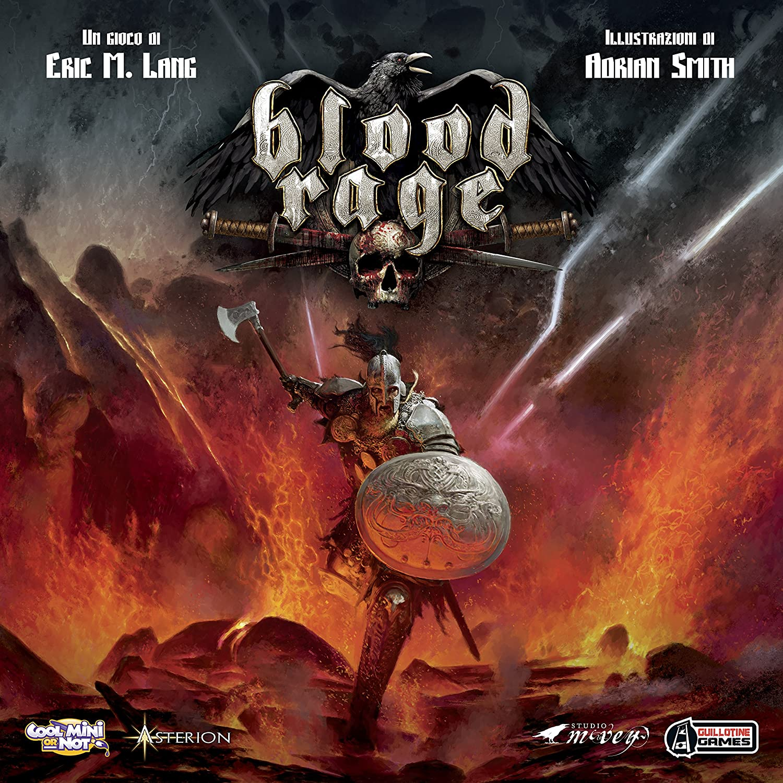 envio rapido a ti Asterion 8730 – Blood Rage, edición edición edición italiana, multicolor  barato y de alta calidad