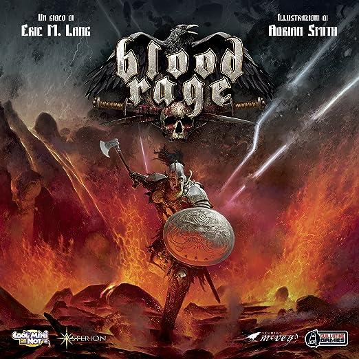38 opinioni per Asterion 8730- Blood Rage, Edizione Italiana, Multicolore