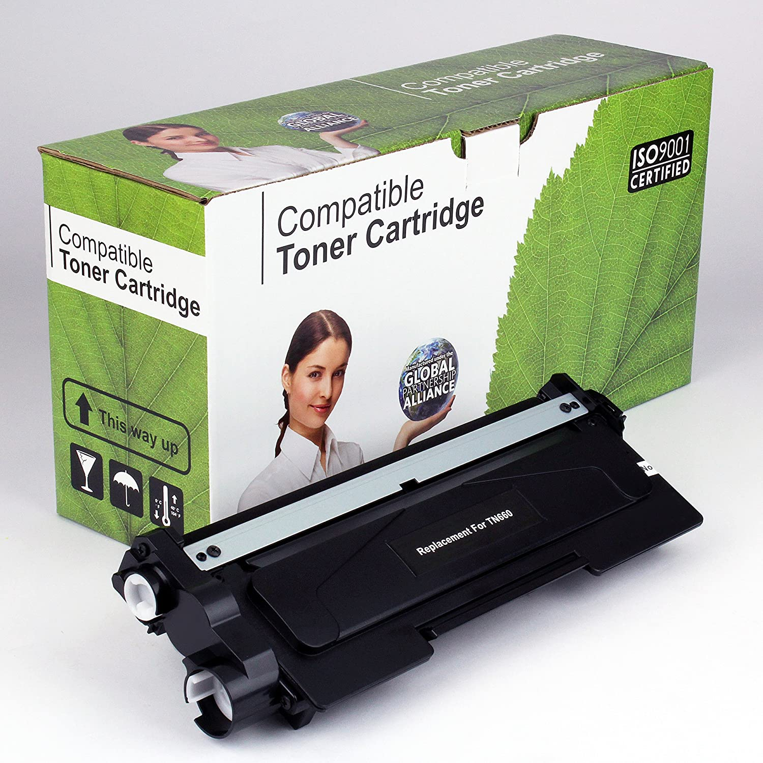 Brother TN660 Compatible Toner 2.6K Yield Black