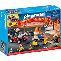 PLAYMOBIL Advent Calendar Construction Site Fire Rescue