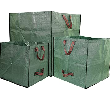 Amazoncom 3 Pack Reusable Gardening Bags Garden Yard Lawn Leaf