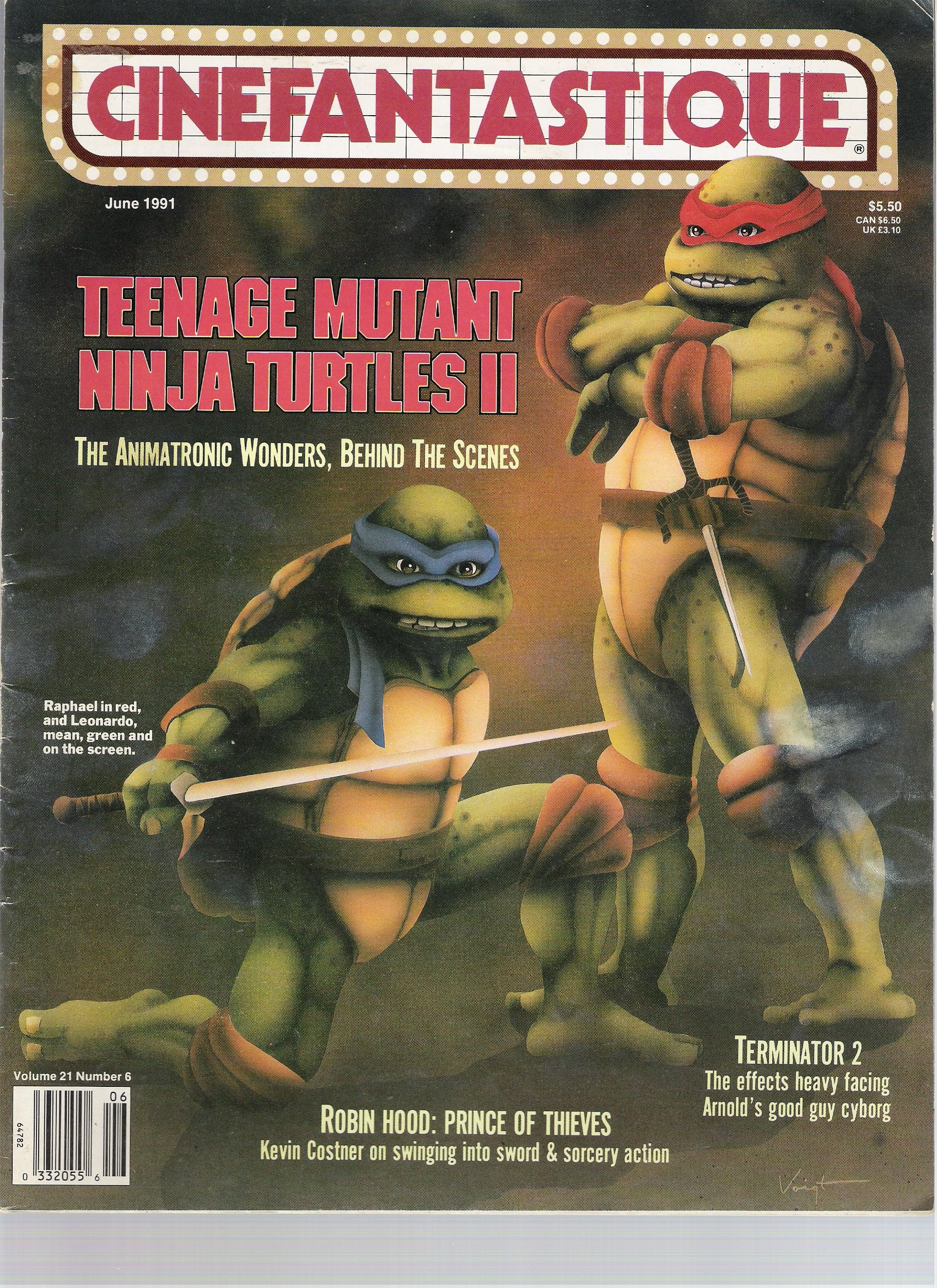 Cinefantastique, June 1991 (Vol. 21, No. 6): Frederick S ...