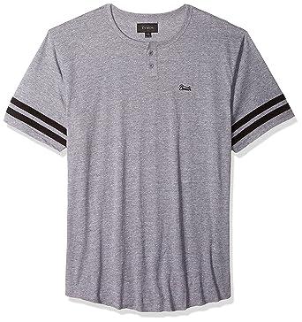722b820b416d Amazon.com: Brixton Men's Potrero Ii Tailored Fit Short Sleeve Henley Knit  Tee: Clothing