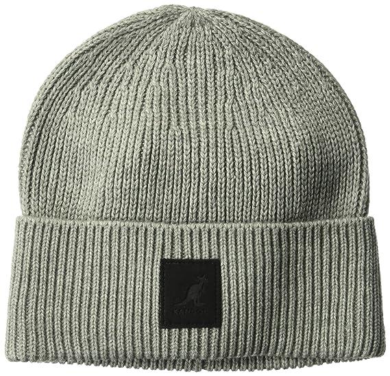 8ae4f6f5 Kangol Patch Beanie Hat: Amazon.co.uk: Clothing
