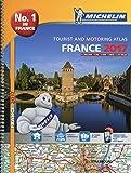 France 2017  atlas - A4-Spiral (Michelin Atlas)