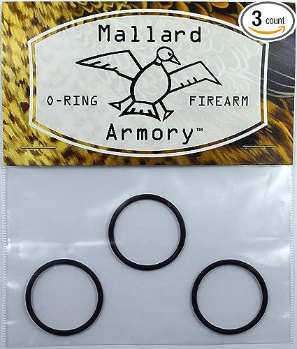 Mallard Armory 3 Remington O-Ring Barrel Seals for Model 1100 12 Gauge  11-87 12 GA