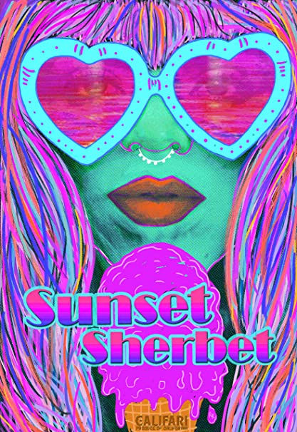 Amazon com: Sunset Sherbet - Full Color Strain Art Poster