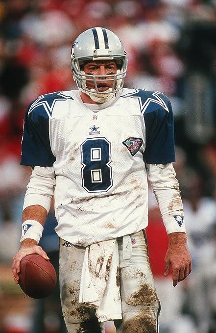 Dallas Cowboys Troy Aikman 8x10 Color Photo