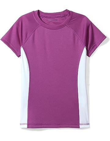 bea23729a2 Amazon Essentials Girls' UPF 50 Swim Tee