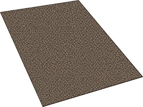 Dream Weaver 8 x10 Indoor Area Rug – Toffee 30oz – Plush Textured Carpet for Residential or Commercial use with Premium Bound Polyester Edges.