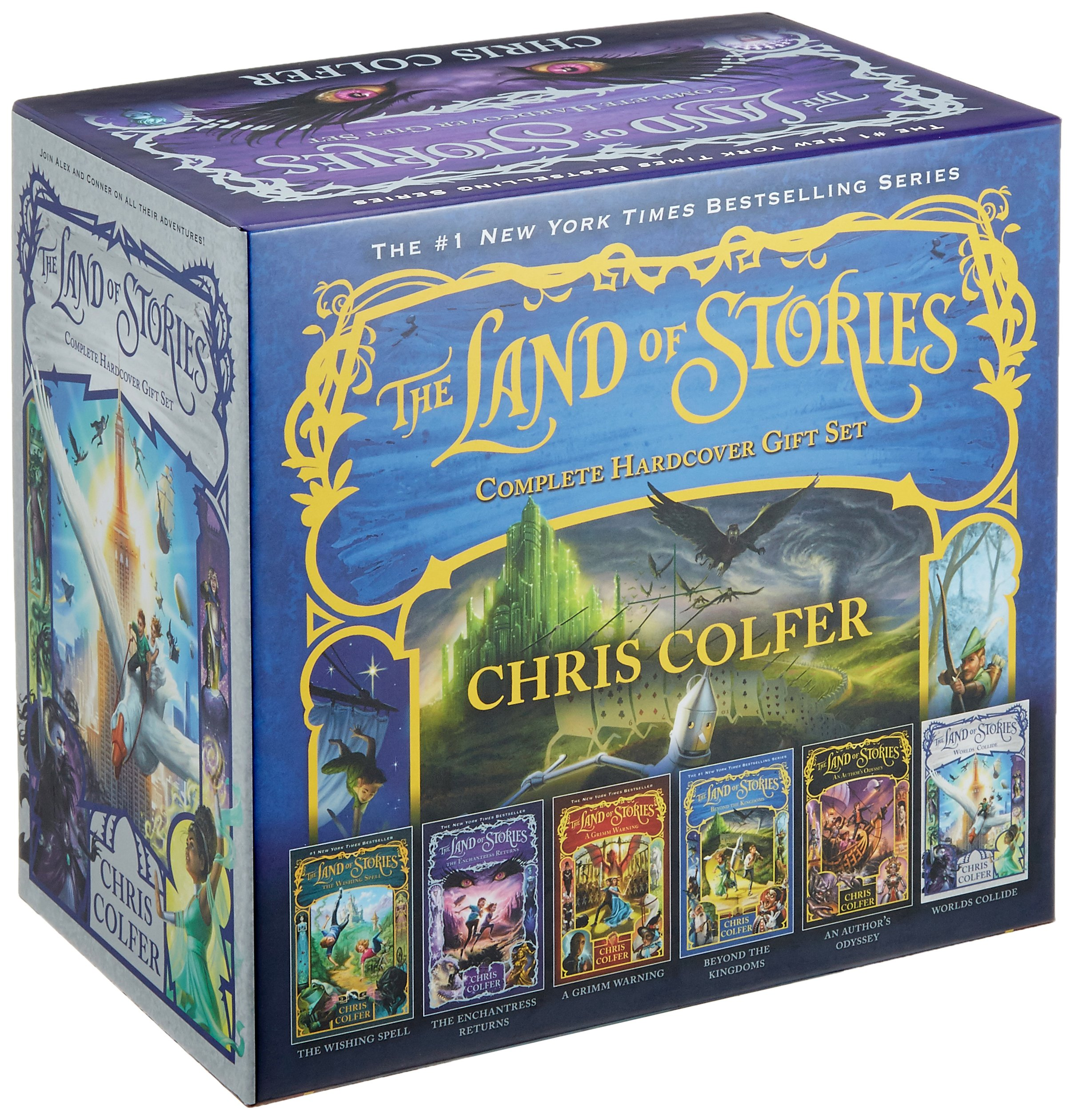 The Land of Stories Complete Hardcover Gift Set by Little, Brown Books for Young Readers (Image #1)