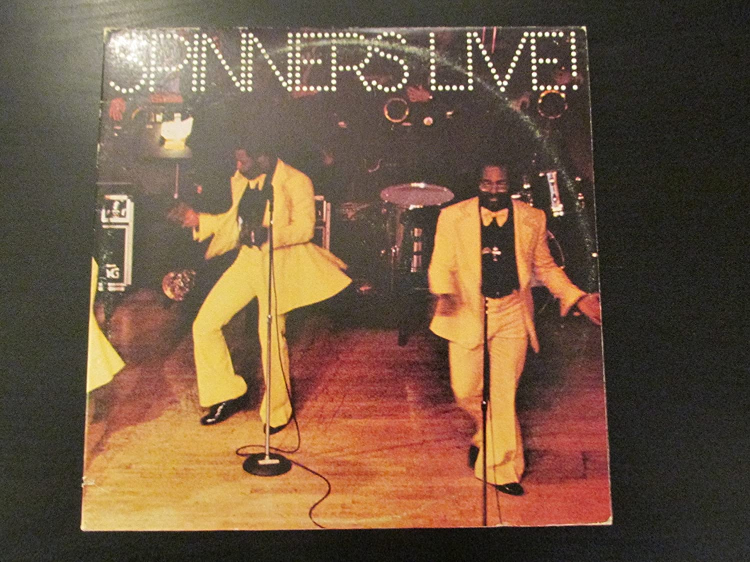 Spinners Live! Cutout, Live, Best of, Original recording, HiFi Sound