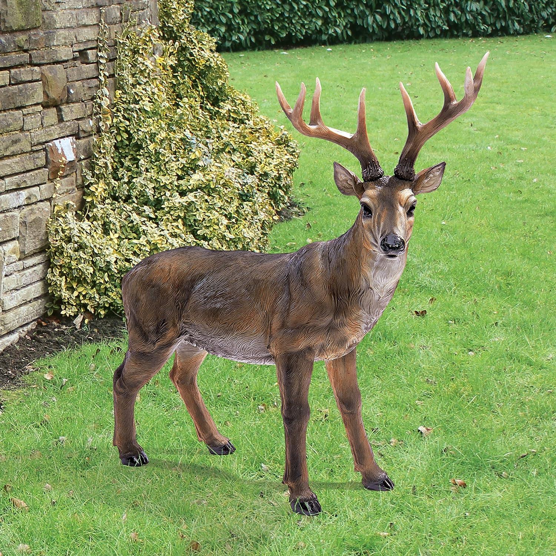 Marvelous Amazon.com : Design Toscano Big Rack Buck Deer Statue : Patio, Lawn U0026 Garden