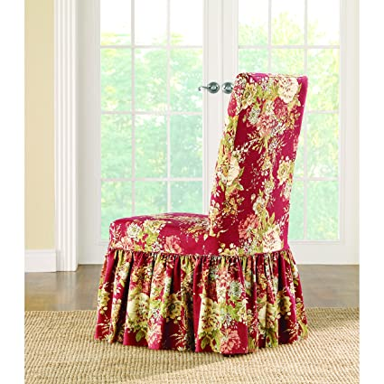 Groovy Amazon Com Sure Fit Ballad Bouquet By Waverly Slipcover Alphanode Cool Chair Designs And Ideas Alphanodeonline