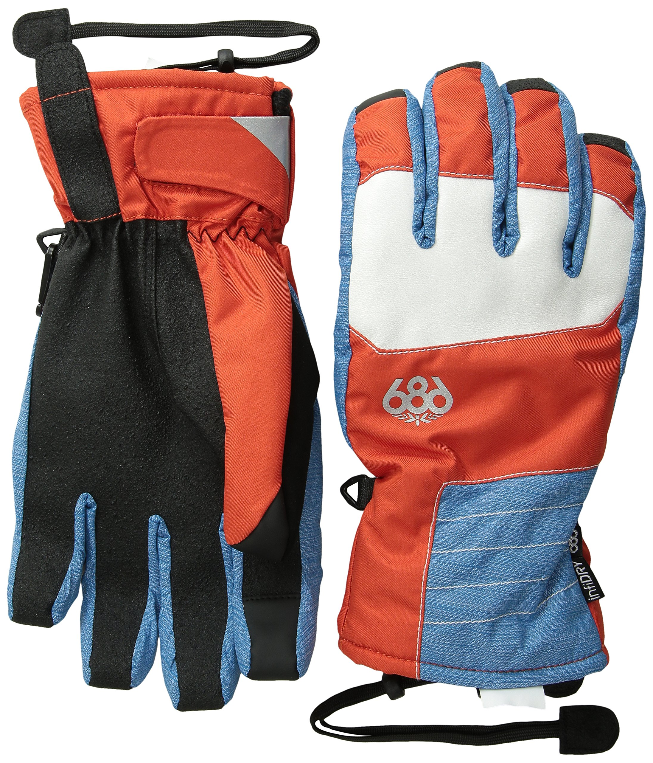 686 Men's Sammy Luebke Burner Glove, Burnt Orange, Medium