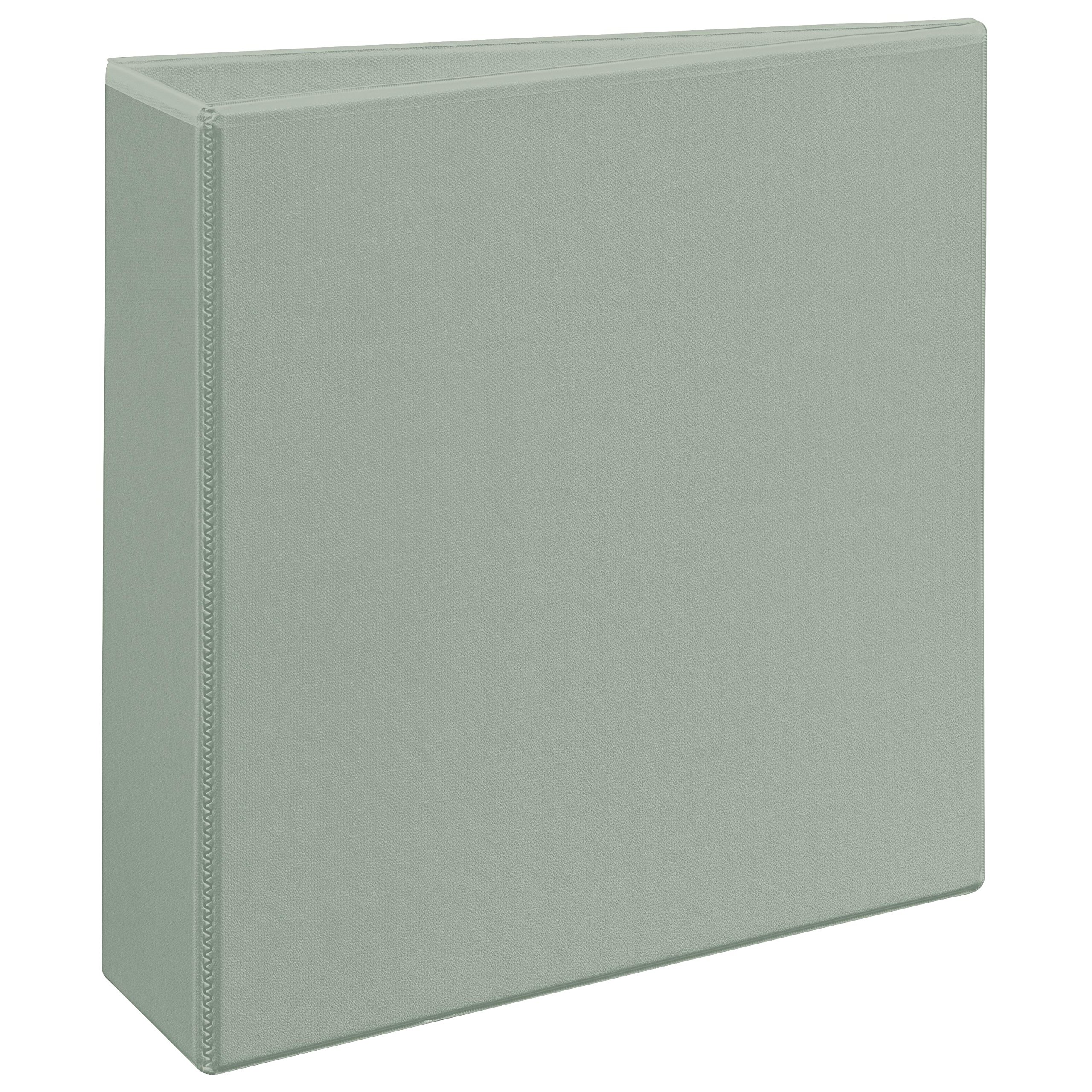 Avery Heavy-Duty Nonstick View Binder, 3'' One Touch Slant Rings, 600-Sheet Capacity, DuraHinge, Shadow Gray (05603)