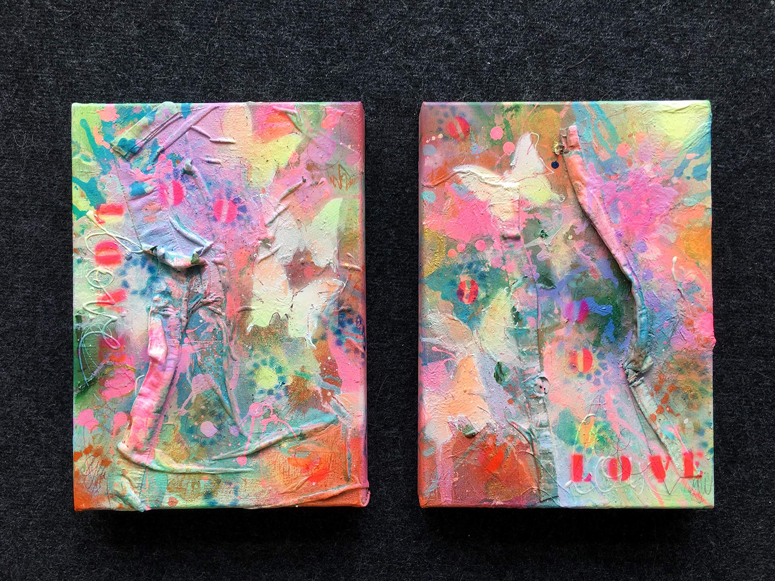 butterflies in my stomach II (diptych)