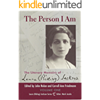 The Person I Am Volume One (Laura (Riding) Jackson Series Book 1)