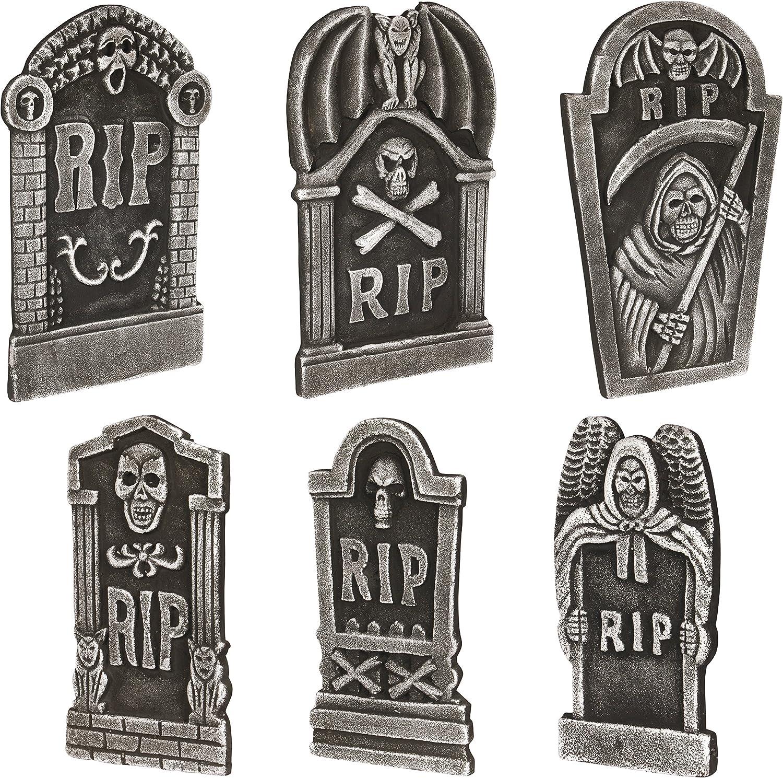 Loftus International Loftus Graveyard Halloween Decor 6Pc 19