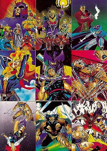 X,MEN JIM LEE ART 1991 COMIC IMAGES COMPLETE BASE CARD SET