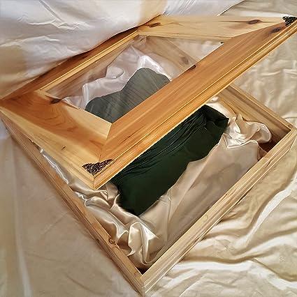 Amazon.com: Wedding Dress Preservation Box (20X29.5X20) DISPLAY CASE ...