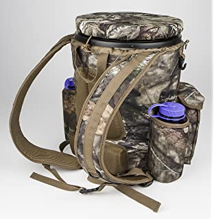 Backpack for 5 Gallon Buckets for Ice Fishing Picking Apples and Sports Strap Pack