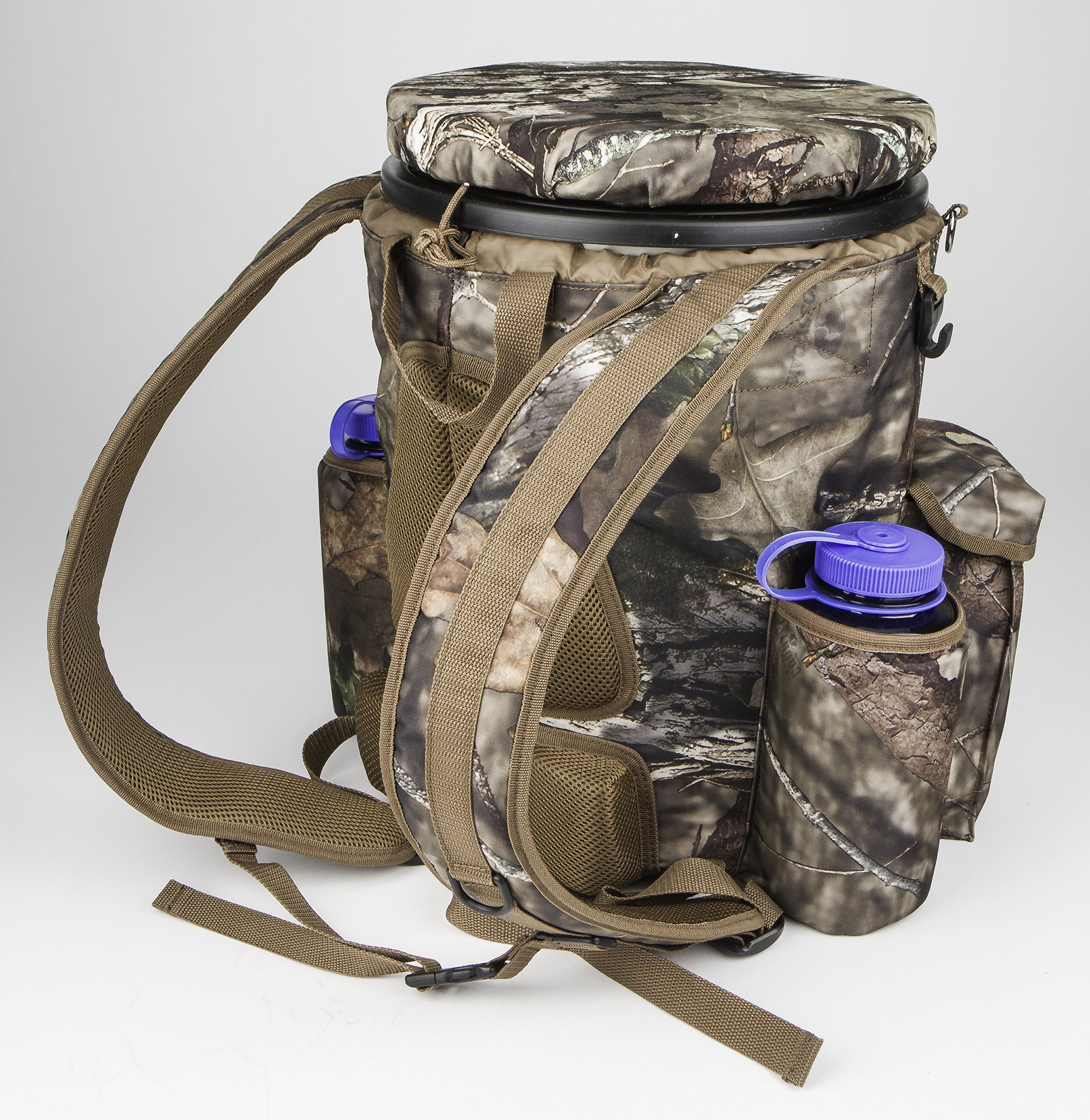 Peregrine Venture Bucket Pack Hunting Bucket Backpack Combo, Mossy Oak Break Up Country