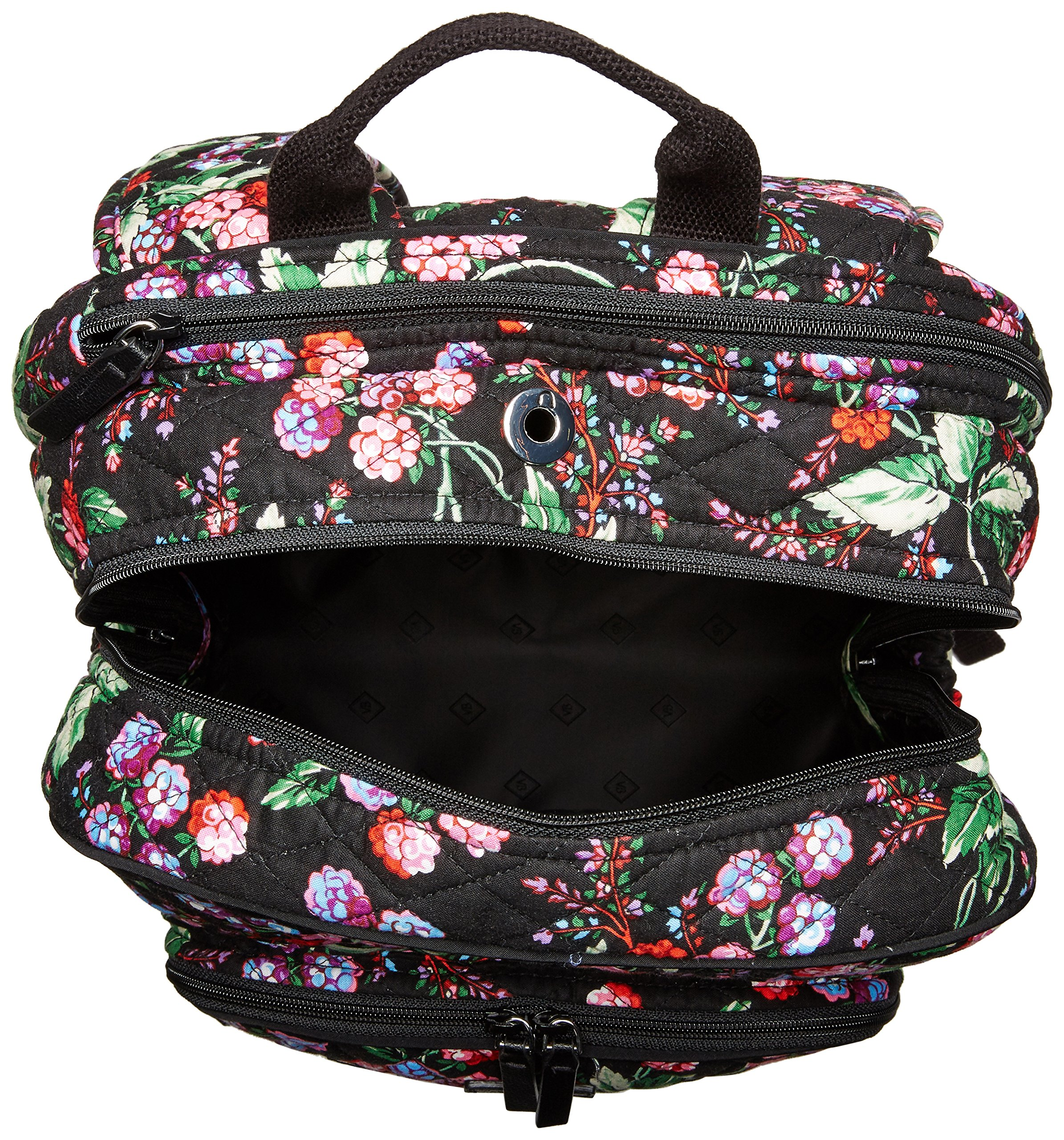 Vera Bradley Women's Campus Tech Backpack-Signature, Winter Berry by Vera Bradley (Image #3)