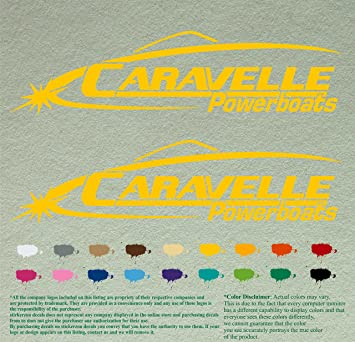 Amazoncom Caravelle Decal Stickers For Sailing Boat Motors - Decals for boat motors