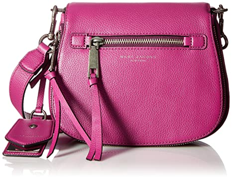 8d956e9cd4618 Amazon.com: Marc Jacobs Recruit Small Nomad Wild Berry: Clothing