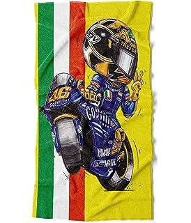 140 x 70 cm extra grande KOOLART 1393 Rossi H o n d a Moto GP Toalla de playa