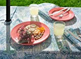 DII Spring & Summer Outdoor Tablecloth, Spill Proof