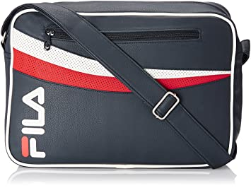 240dfc4ddf Fila Synthetic Peacoat Messenger Bag (13000848): Amazon.in: Bags ...