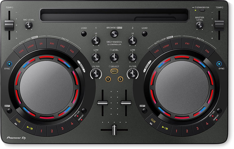 front facing Pioneer Pro DJ DDJ-WeGO4-K