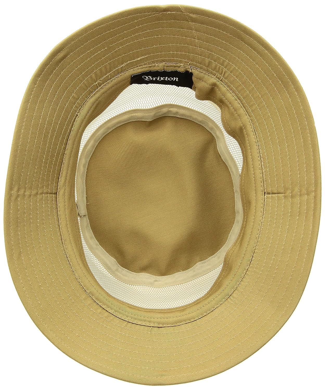 fff3d45f9270ed Amazon.com: Brixton Men's Hardy Short Brim Mesh Bucket Hat: Clothing