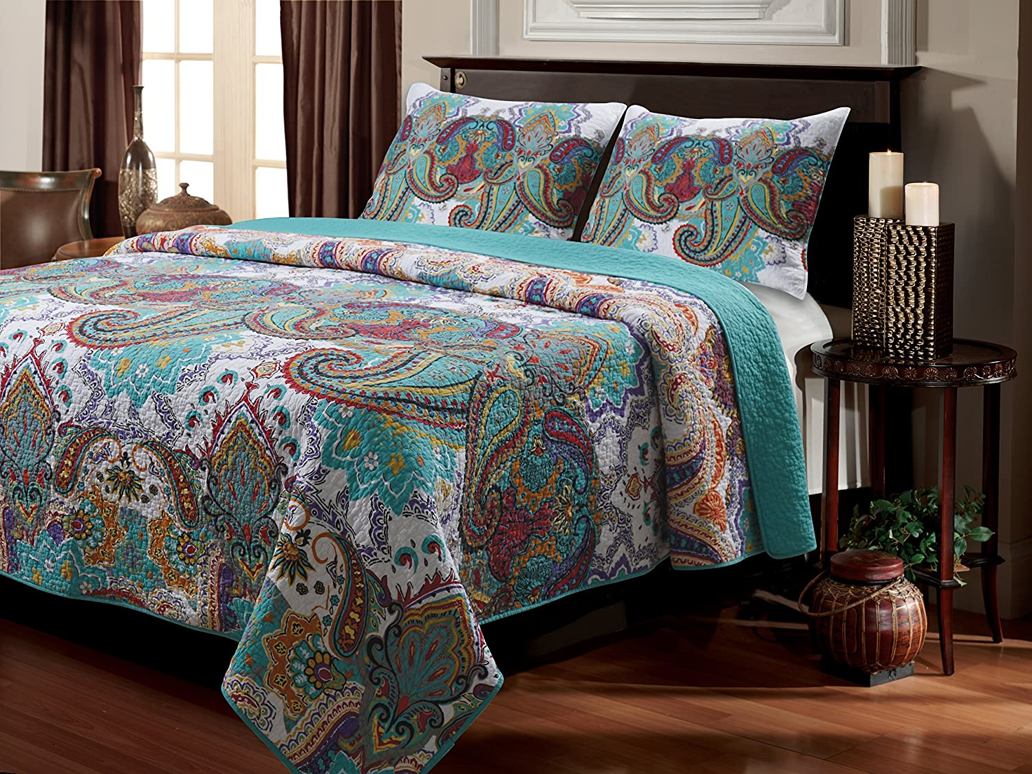 Greenland Home 3-Piece Nirvana Quilt Set, King