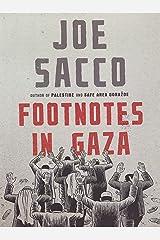 Footnotes in Gaza Hardcover