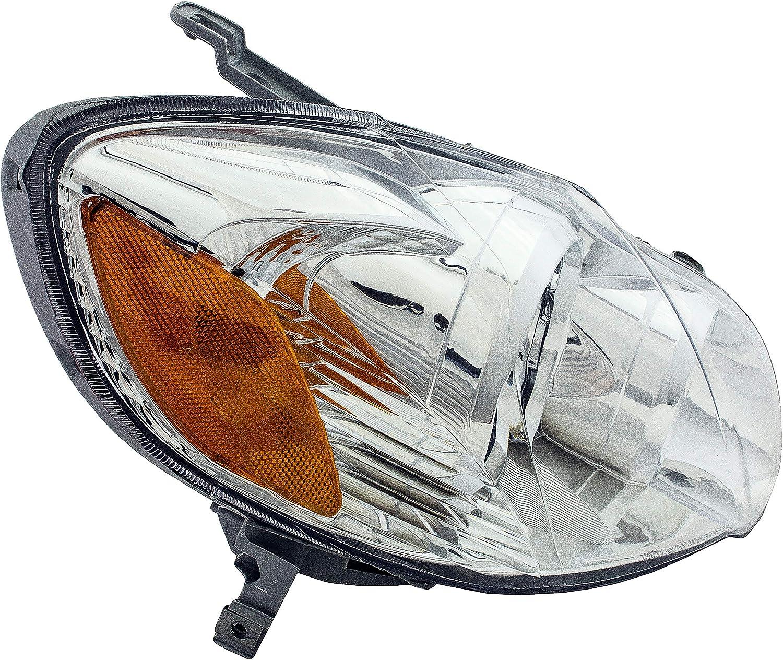 Dorman 1591168 Passenger Side Headlight Assembly For Select Toyota Models