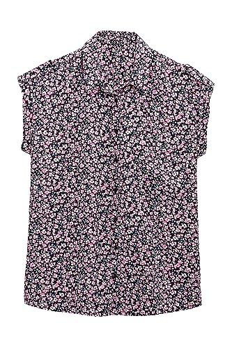 next Mujer Camisa Manga Corta Estampada Corte Regular