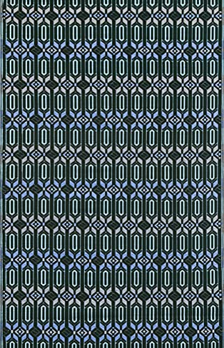 Mad Mats FM-MOR69-DP1 Moroccan-Deep Periwinkle 6 X 9