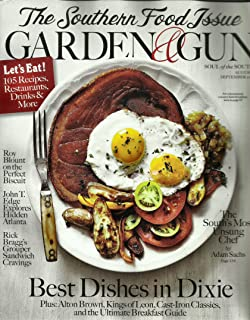 Garden Gun Magazine October November 2016 Southern Food Issue